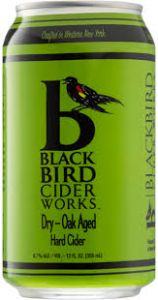 BlackBird Cider Works Dry Oak Barrel Aged Cider / 4-pack cans