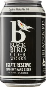 BlackBird Cider Works Estate Reserve - Semi Dry Cider / 4-pack cans