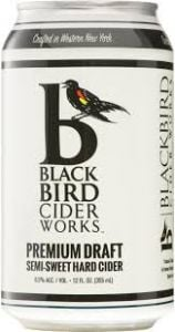 BlackBird Cider Works Premium Draft Hard Cider / 4-pack cans