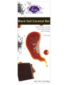 Vosges Black Salt Caramel Exotic Chocolate Bar 3 OZ