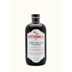 Bittermilk # 1 Bourbon Barrel Aged Old Fashioned Cocktail Mixer 8.5 OZ