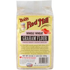 Bob's Red Mill Whole Wheat Graham Flour 24 oz Bag