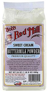 Bob's Red Mill Sweet Cream Buttermilk Powder 24 oz Bag