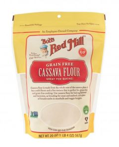 Bob's Red Mill Grain Free Cassava Flour 20 oz Bag