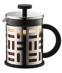Bodum Eileen 4-Cup French Press Coffee Maker Chrome 17 oz