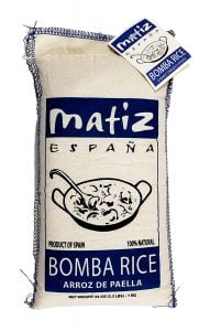 Matiz Bomba Rice 2.2 lb Bag