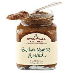Stonewall Kitchen Bourbon Molasses Mustard 8.5 OZ