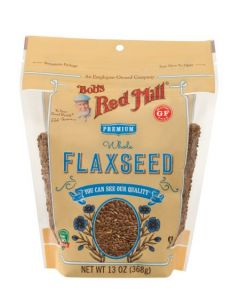 Bob's Red Mill Whole Flaxseed 13 oz Bag