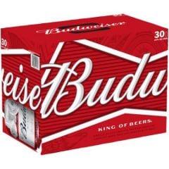 Budweiser / 30-pack cans