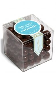 Sugarfina Dark Chocolate Sea Salt Caramels Small Cube