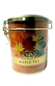 Canada True Maple Tea Tin 30 Bags 2.1 oz