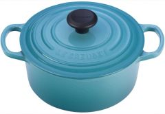 Le Creuset 2qt Signature Round French Oven Caribbean (LS2501-1817)