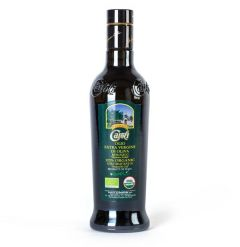 Caroli Organic Cold Pressed Italian Extra Virgin Olive Oil 16.9 oz bottle