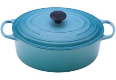 Le Creuset 5qt Signature Oval French Oven Caribbean
