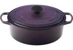 Le Creuset 5qt Signature Oval French Oven Cassis