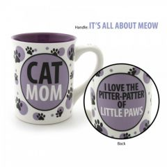 Our Name is Mud Cat Mom Mug