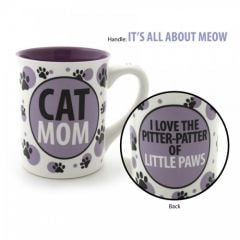 Our Name is Mud Cat Mom Mug