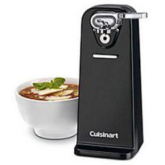 Cuisinart Power Cut Can Opener Black