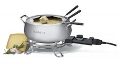 Cuisinart Electric Fondue Maker Stainless Steel