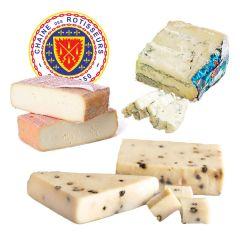 Chaine Tasting Cheese Pairing Three-Cheese Sampler
