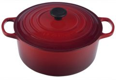 Le Creuset 7.25qt Signature Round French Oven Cherry