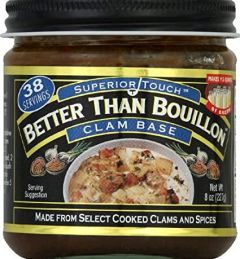 Better Than Bouillon Clam Base 8 oz Jar
