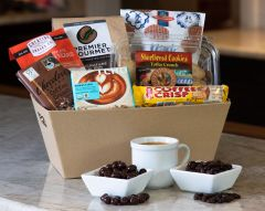 Coffee Break Gift Basket (#410)