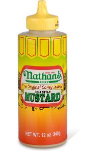 Nathan's Coney Island Mustard 12 OZ