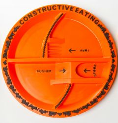 Constructive Eating Kids Construction Plate