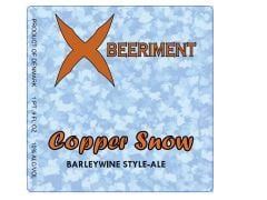 Xbeeriment Copper Snow / 16.9 oz bottle