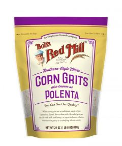 Bob's Red Mill White Corn Grits 24 oz Bag