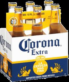 Corona Extra / 6-pack bottles