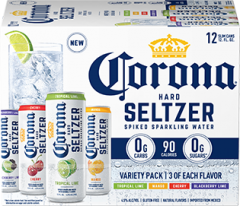 Corona Seltzer Variety / 12-pack cans