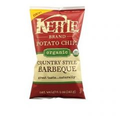 Kettle Organic Country Style Barbeque Potato Chips 5 OZ