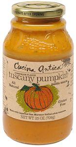 Cucina Antica Tuscany Pumpkin Pasta Sauce 25 OZ