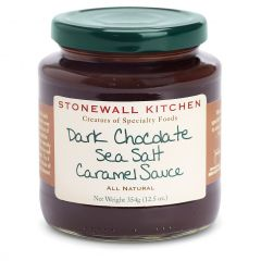 Stonewall Kitchen Dark Chocolate Sea Salt Caramel Sauce 12.5 oz