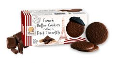 Pierre Biscuiterie Dark Chocolate Butter Cookies