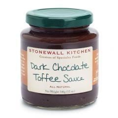 Stonewall Kitchen Dark Chocolate Toffee Sauce 12 oz
