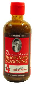 Demitris Chili & Peppers Bloody Mary Mix/Marinade 8 oz