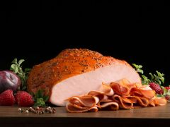 Boar's Head Cracked Pepper Mill Smoked Turkey - 1/2 lb. Sliced