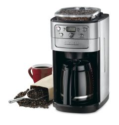 Cuisinart 12Cup Grind and Brew Coffeemaker Brushed Stainless Steel and Black