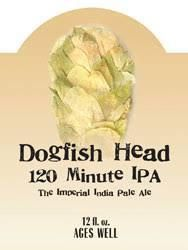Dogfish Head 120 Minute IPA / 4-pack bottles