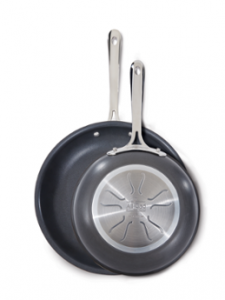 All Clad 2 Pc. Non-Stick Fry Pan Set
