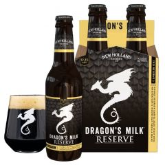 New Holland Brewing -Dragon's Milk Reserve #2: Barrel Aged Stout with Vanilla / 4-pack of 12 oz. bottles