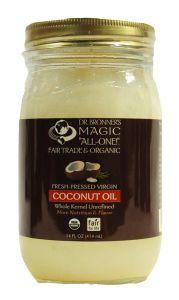 Dr. Bronner's Organic Coconut Oil 14 oz