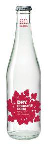 Dry Rhubarb Soda 4 PK 48 OZ