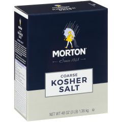 Morton Kosher Salt - 48 oz Box