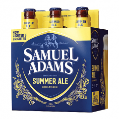 Samuel Adams Summer Ale - 6 Pack of 12 oz Bottles