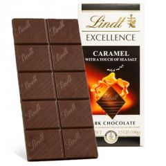 Lindt Excellence Caramel & Sea Salt Dark Chocolate Bar