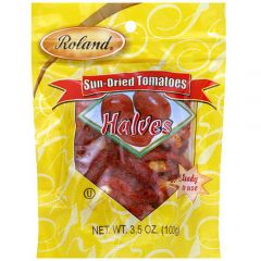 Roland Sun Dried Tomato Halves - 3.5 oz Bag